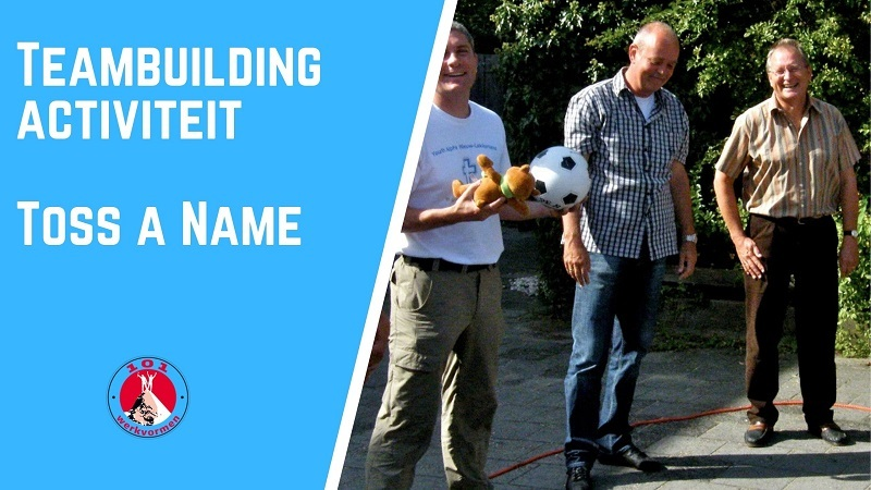 teambuilding activiteit Toss a Name