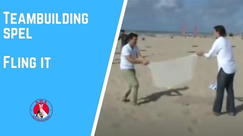 teambuilding spel Fling it
