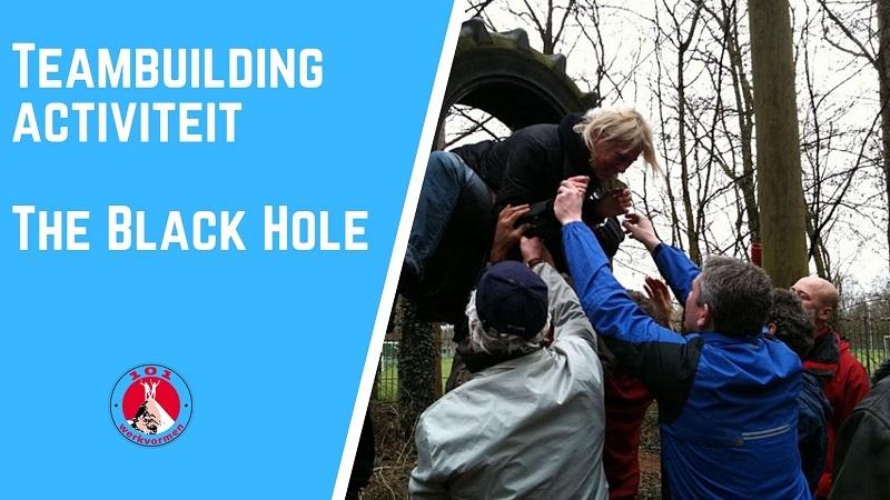 teambuilding activiteit de black hole